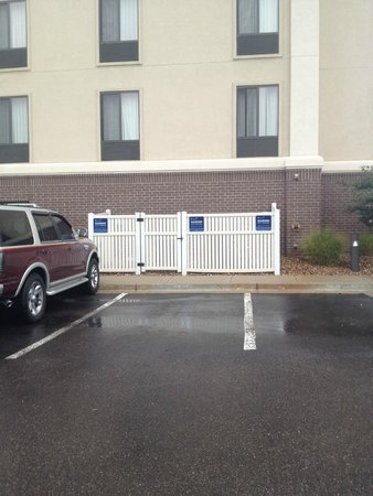 Hampton Inn & Suites Denver Littleton: HHonors Diamond Parking