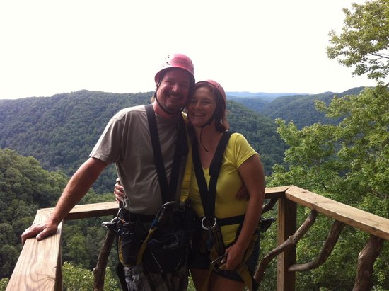 Zip Line Picture Of Ace Adventure Resort Day Tours Oak Hill