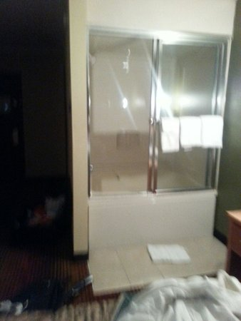 Rodeway Inn: Tub in middle of room