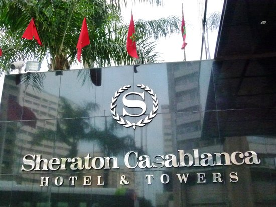 Sheraton Casablanca Hotel & Towers: front of hotel