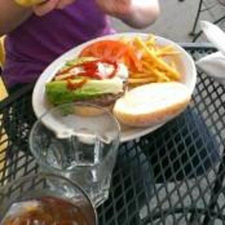 Park Squeeze Burger