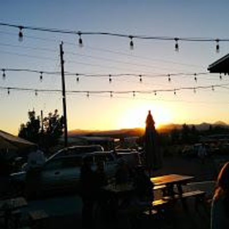 Crux Fermentation Project: Sunset From The Patio