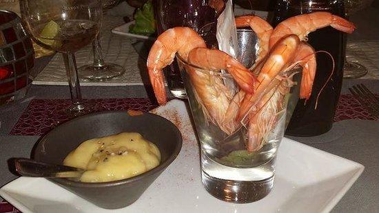 L'essentiel : Bouquet de crevettes