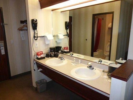 Phoenix Inn Suites : Vanity & coffee pot
