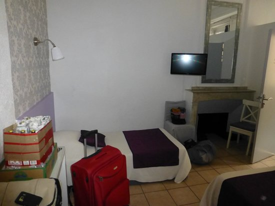 Hotel L'Herbier d Orange : Zimmer