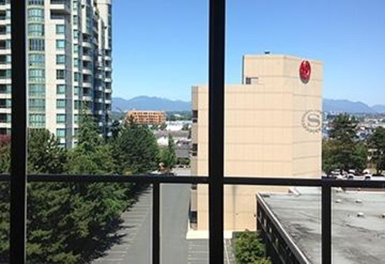 Sheraton Vancouver Airport Hotel: the view