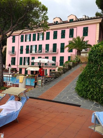 Hotel Cenobio Dei Dogi: Front picture of our hotel room.