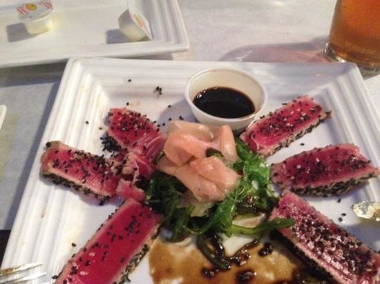 Chef John's Place: seared Tuna with Sesame Seed-delicious!!