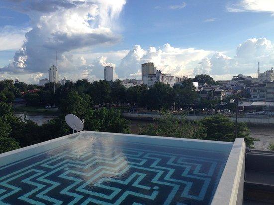 sala lanna Chiang Mai : Pool View