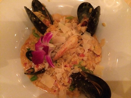 Andre's Bouchee: Seafood risotto