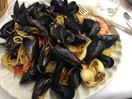 Trattoria Da Dante: Spaghetti allo scoglio