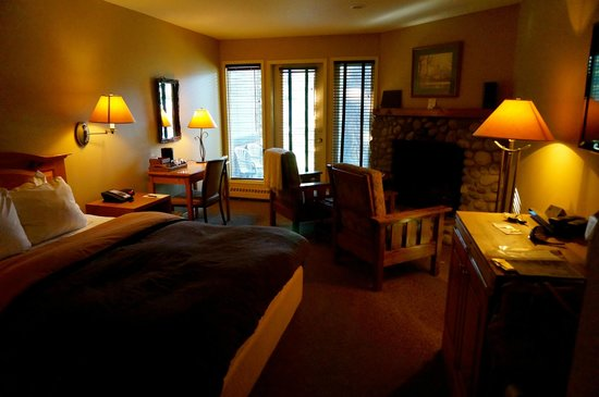 Buffalo Mountain Lodge: Our room on the ground floor