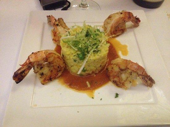 Le Central : Risoto de camarão que não era risoto, mas bom!
