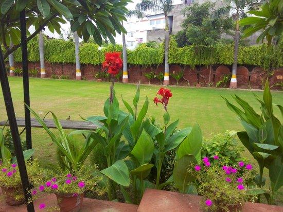 Hotel Atithi, Agra: Its garden