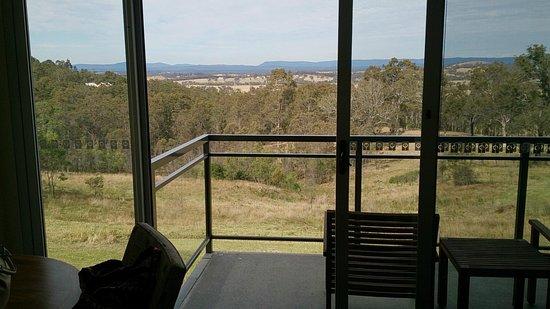 Golden Door Health Retreat & Spa Elysia: View out over the vineyards