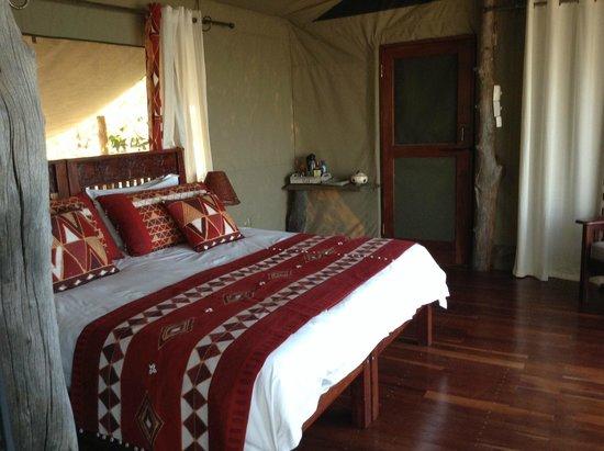Changa Safari Camp : Comfy bed