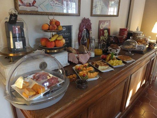 Le Domaine de La Frenaie : Petit-déjeuner gourmand