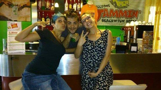 Jammin' Riccione Beach & Fun Hotel: Gianna&Nico grandiii!