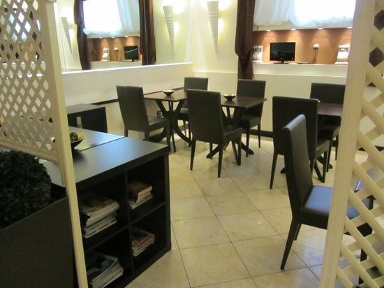 Hotel Latinum: Ontbijtruimte