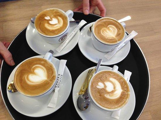 Wildpeak Coffee Shop: coffee with heart