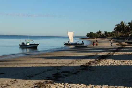 Hotel de la Plage - Ifaty: strand