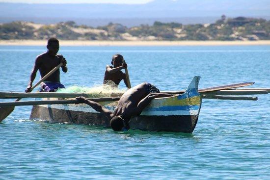 Hotel de la Plage - Ifaty: locale vissers