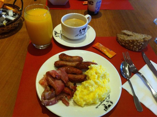 Mercure Saint Lary Sensoria: My breakfast