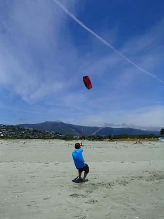 Kitesurf Nelson: First lesson on the beach