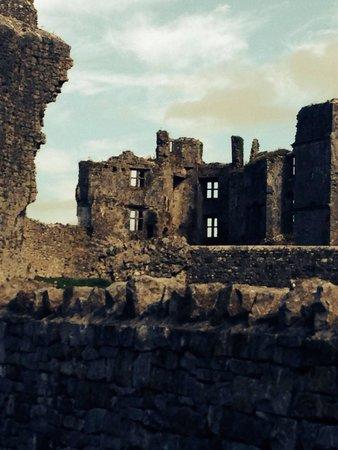 Roscommon Castle: The castle