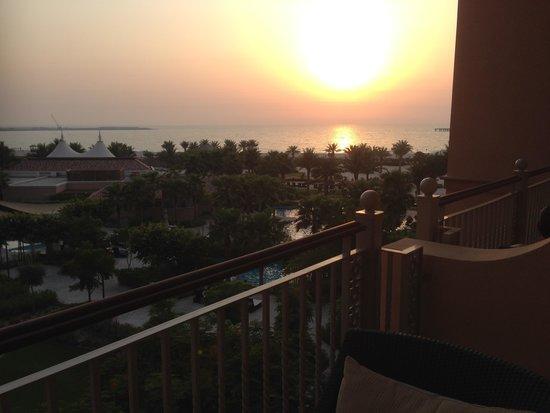 The Ritz-Carlton, Dubai: View from the room