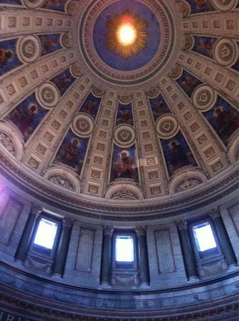Interior De La Iglesia Picture Of Frederiks Kirke The Marble