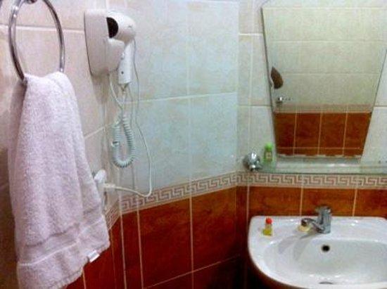 Hotel Malika Bukhara: bathroom