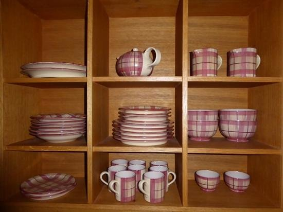 Ardgay, UK: nice pottery, kitchen well equipped