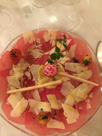 Chez Mantisi : Carpaccio !!!!