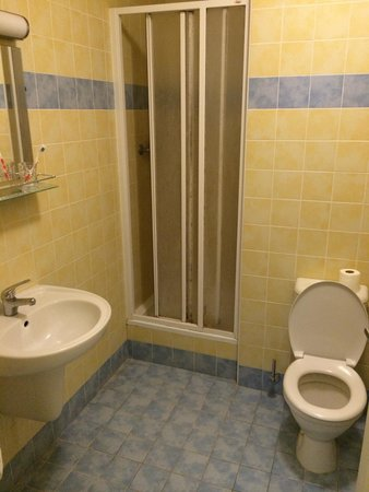 Hotel Orion: Toilet, room P1