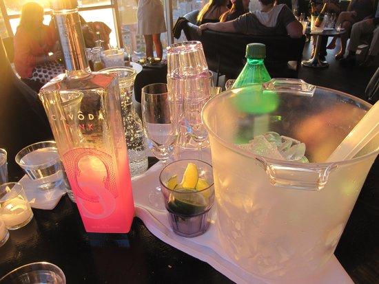 Hotel on Rivington: Complimentary drinks