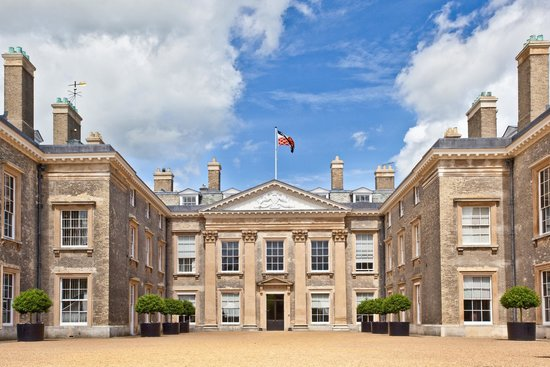 A photograph of the exterior front of Althorp House