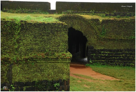 Manjarabad Fort: Entrance to the fort from Inside