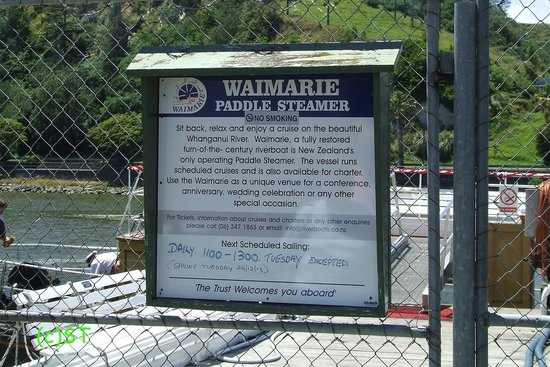 Whanganui River: Info Board