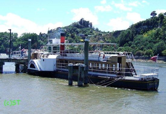 Whanganui River: PS Waimarie