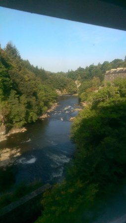 New Lanark Mill Hotel: Room with a view