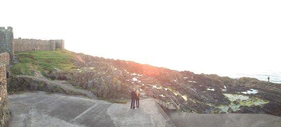 Peel Castle: Beautiful scenery, so breathtaking