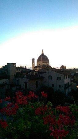 Hotel Cardinal of Florence: Rooftop view