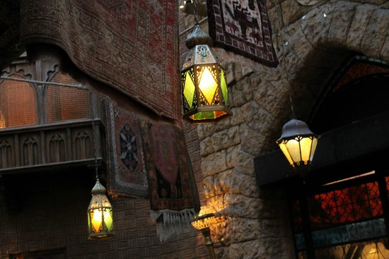 Agrabah Cafe: Interno