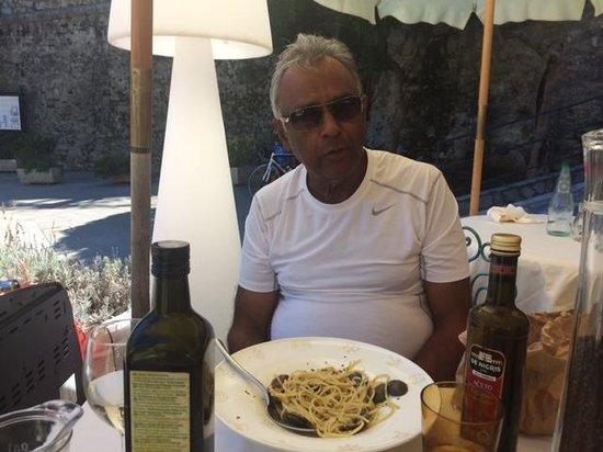 Trattoria Tre Torri: Spaghetti A la Vongole