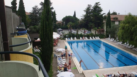 Hotel Palme & Suite: Hotel Palme, Ausblick vom Zimmer