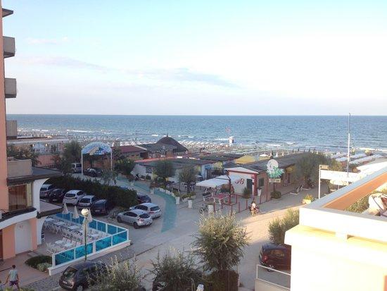 Hotel Continental: Vista dal balcone