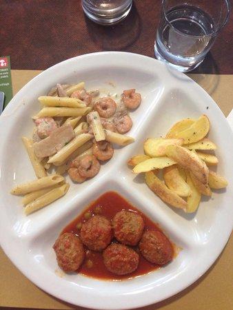 Ristorante Sharing Torino: Tris del giorno