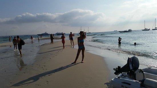 Insotel Hotel Formentera Playa: spiaggia