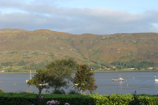 Loch Linnhe and the view from the front